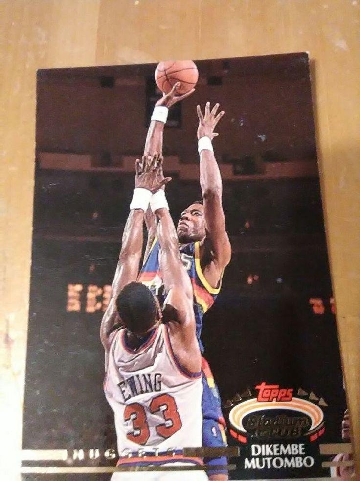 1992/93 TSC #273 Dikembe Mutombo: Denver Nuggets #NewJerseyNets