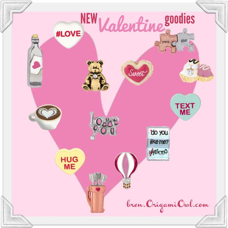 114 best Origami Owl Valentine\'s Day Gifts images on Pinterest ...