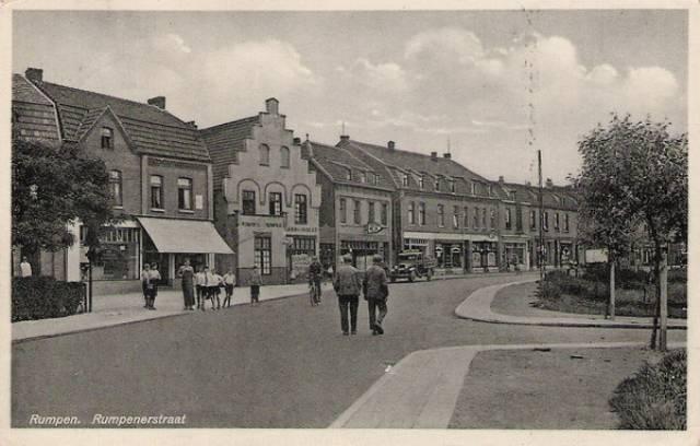 Rumpenerstraat, Brunssum, jaren 30