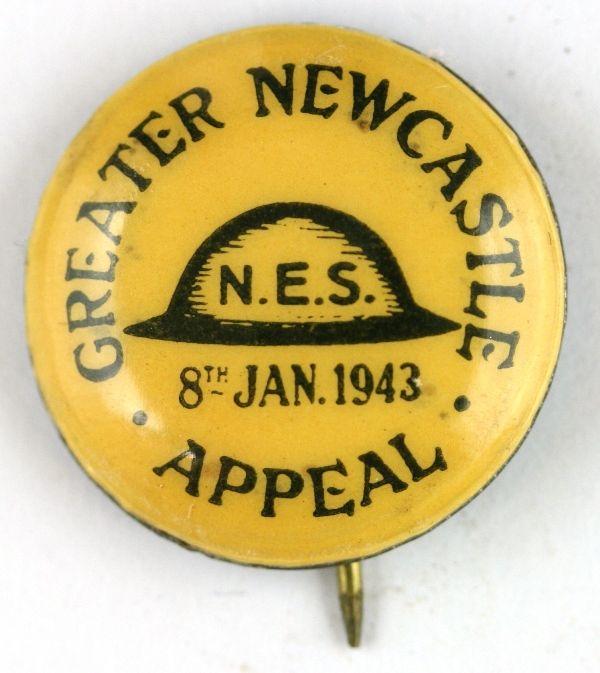 WW2 Great Newcastle National Emergency Service Appeal