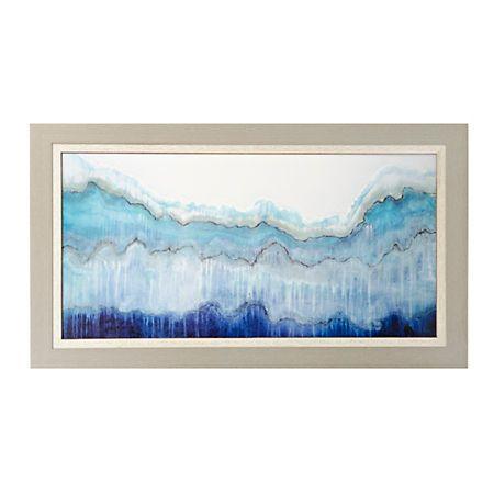 Shades of Blue Framed Art Print | Kirklands