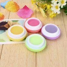 2016 New Macaron Lip Balm Makeup Candy Macaron Natural Plant Fruit Sphere Lip Gloss Lipstick Maquiagem Protetor Labial T16(China (Mainland))
