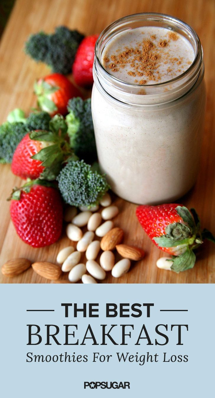 Smoothies could be your best-kept weight-loss secret: the blended beverage offers you tons of nutrition as well as protein and fiber to help keep you full until your next meal. Make these for breakfast and watch the pounds drop away.  Rapid weight loss! The new method in 2016! Absolutely safe and easy! #weightlossrecipe #weightlosefast #weightlosesmoothies #weightlosemealplan