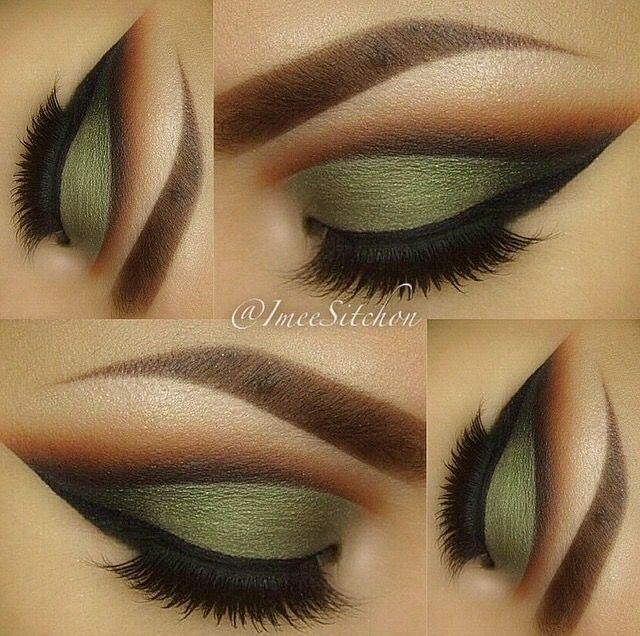 Makeup blending eyes lips eyeshadow color bright lashes eyeliner pretty.