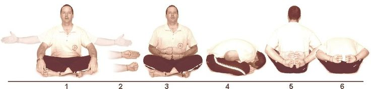11. Yoga Mudrasanam (Yogic Symbol Pose)