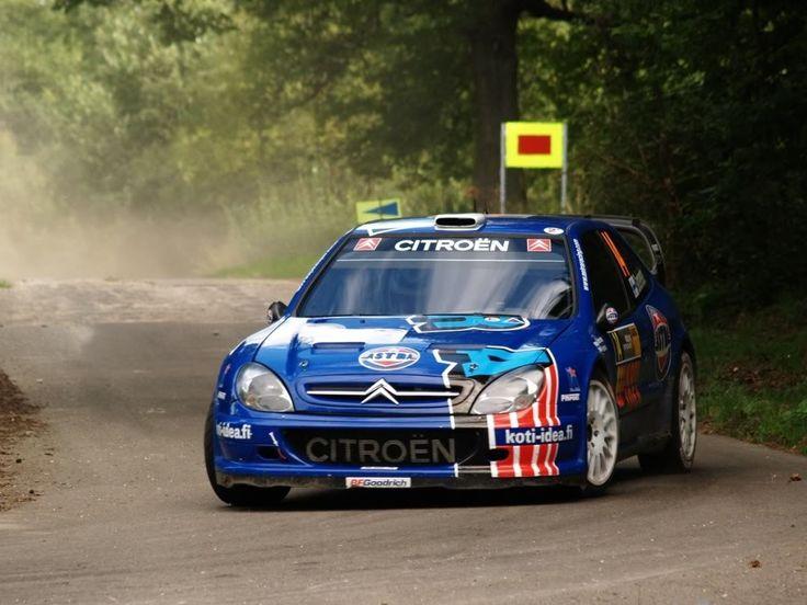 Citroen Xsara WRC rally car ASTRA RACING TEAM