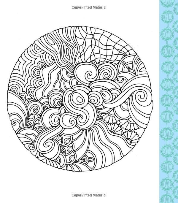 Color Me Stress Free Coloring Book