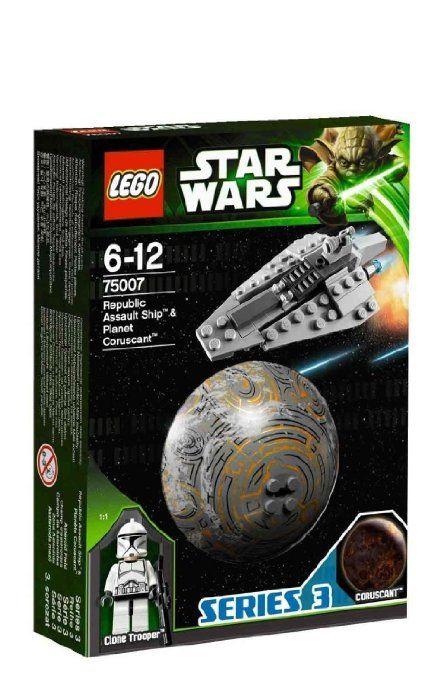 Micah - Amazon.com: LEGO Star Wars Republic Assault Ship and Coruscant (75007): Toys & Games