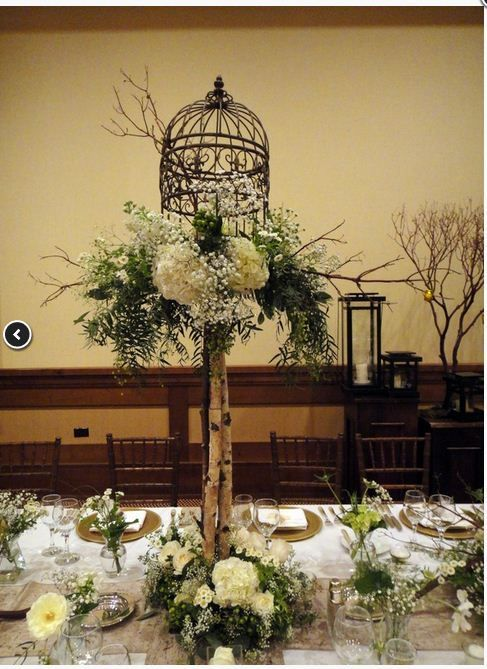 Bird Cages Centerpieces Wedding Image collections - Wedding ...