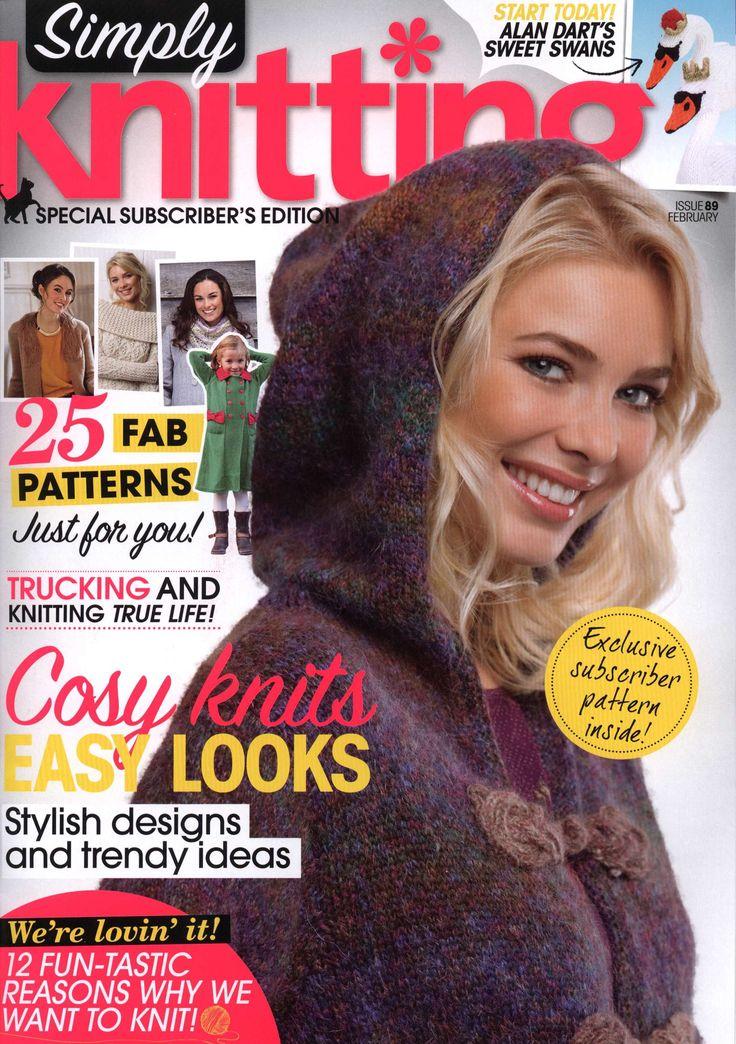 Simply Knitting February 2012