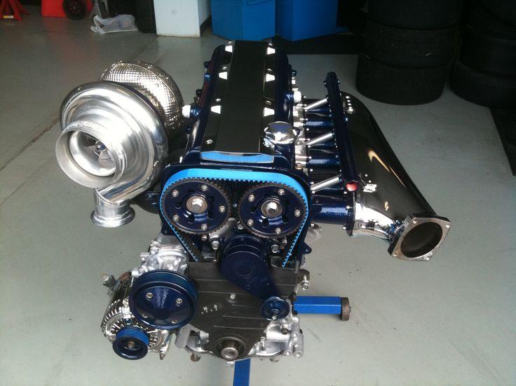 Toyota Supra Turbo 2JZ engine I built.