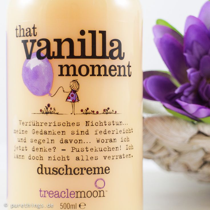"treaclemoon ""That Vanilla Moment"""