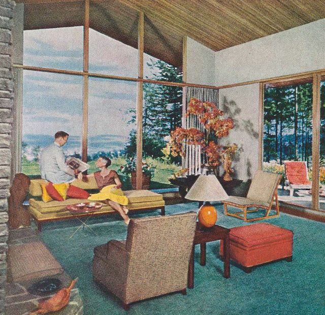 464 Best Images About Mid Century Homes On Pinterest | Mid Century