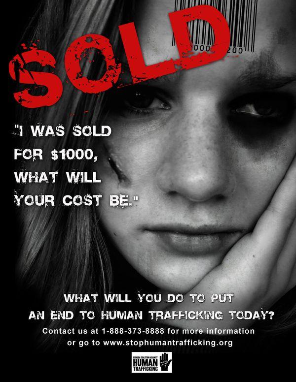Human Trafficking Campaign | Designer: Homaa Hamid | Image 1 of 5