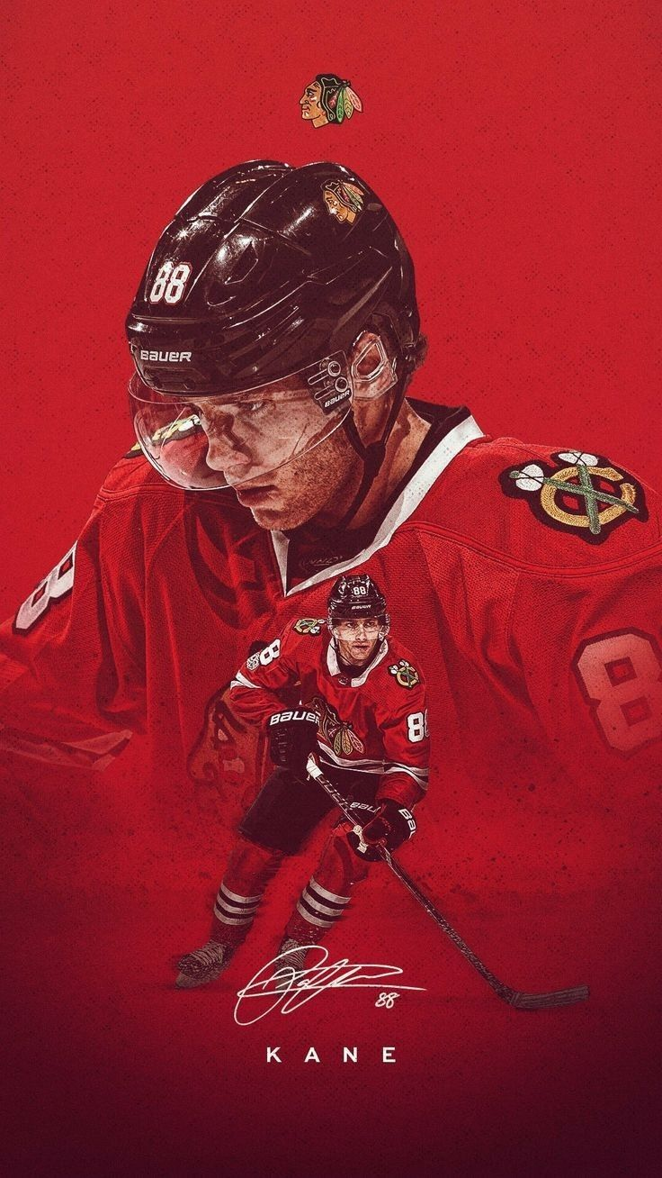 Icon Patrick Kane Blackhawks Chicago Blackhawks Wallpaper Chicago Blackhawks Hockey