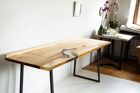 White resin table,Dining table,Resin table,Epoxy table,Resin dining table,Epoxy resin table,Resin furniture,Industrial dining table