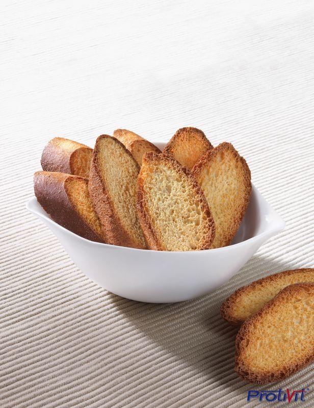 #Pane tostato ad alto contenuto di #proteine e di #fibre, con pochi zuccheri.  #ProtiVit #eatclean #dietaproteica #helthyfood #dieta #prodottiproteici  #healthy #salute #benessere #dimagrimento