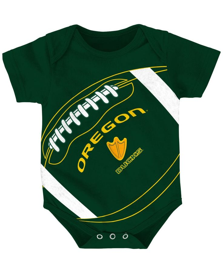 Outerstuff Newborn Baby Oregon Ducks Football Fanatic Creeper (0-9 months)