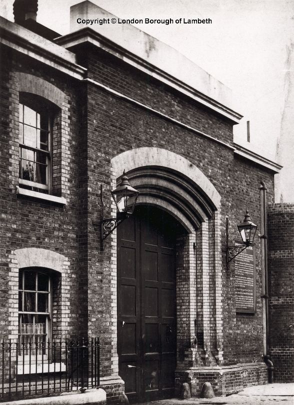 Brixton Prison Entrance, Brixton Hill 1900