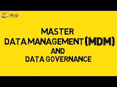 Master Data Management and Governance - YouTube