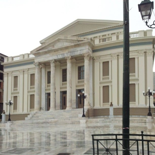 spetike54 Δημοτικό Θέατρο Πειραιά (Municipal Theater of Piraeus http://instagram.com/p/Xzk5oDxcUk/
