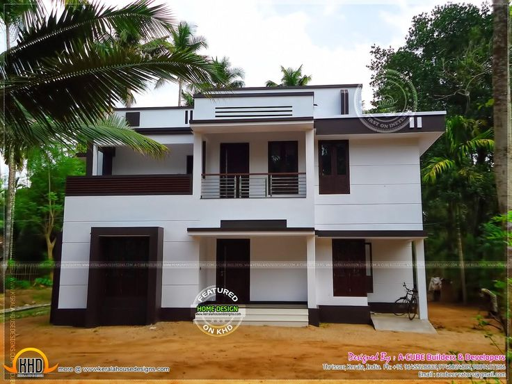 Middle Class House Plans And Home Design Exterior Wall