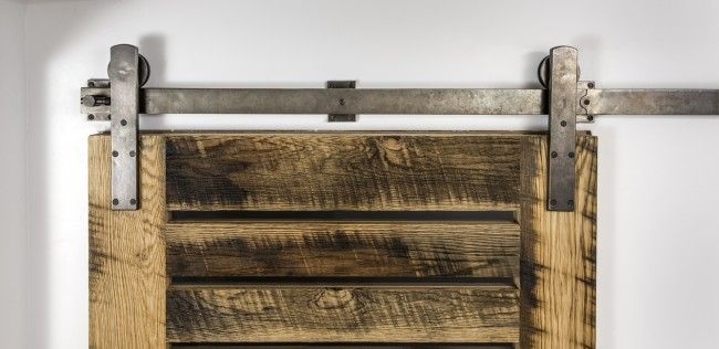 BARN DOOR TRACK by Rocky Mountain Hardware - I can't wait to have a customer buy this!
