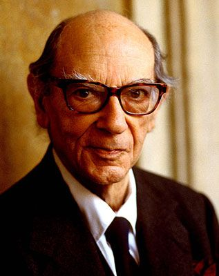 Sir Isaiah Berlin, the late philosopher, is my intellectual hero. He was also very generous to me when I was an Oxford student.