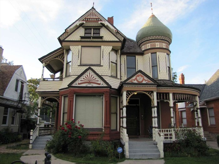 40 best victorian houses beige tan 2 images on pinterest for House plans ogden utah