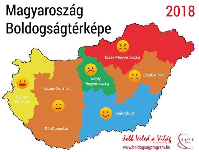 Élet+Stílus: Térkép készült a magyar boldogságról - HVG.hu