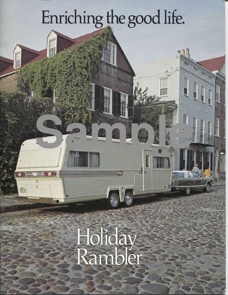1000 Images About 72 Holiday Rambler On Pinterest