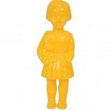 Plastic Clonette Doll with Rabbit (yellow)