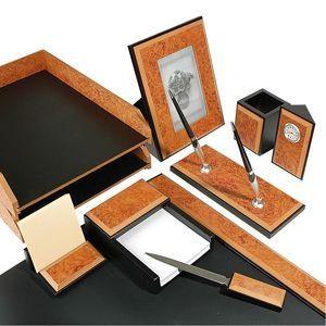 Настольный набор (с часами) 9 предметов 9260FDR на Маркете VSE42.RU
