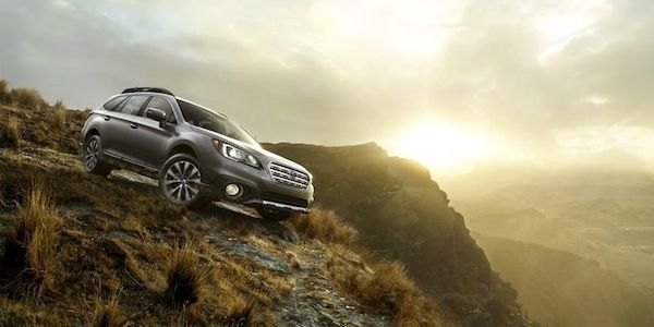 Two features that makes 2015 Outback a true outdoor-oriented vehicle
