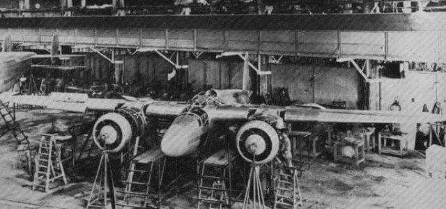 Breda Ba-88 Lince under construction