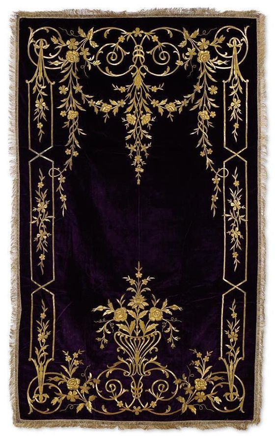 [Ottoman Empire] Palace Prayer Rug, 19th Century (Osmanlı Kadife Saray İşi Seccade, 19. YY):