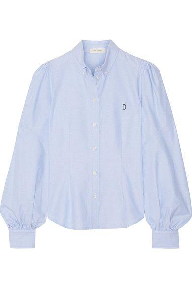 Marc Jacobs - Cotton Oxford Shirt - Light blue - US
