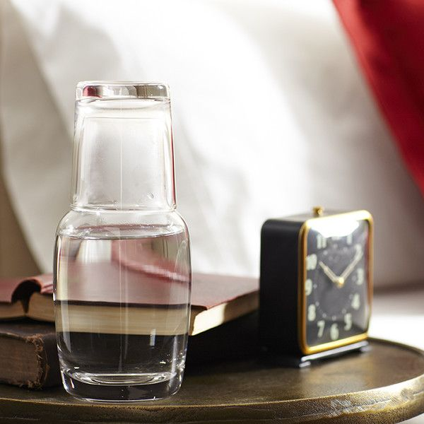 Classic Glassware Nightstand Carafe