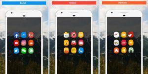 Icon Pack – Oval es un excelente compilado de iconos y fondos para nuestro smartphone, con este tema vas a personalizar el aspecto visual de tu móvil con miles de iconos nuevos e imágenes en Full HD, creado y o actualizado por los estudios Rangeen Studio en la fecha de 24 de octubre de 2017, actualmente esta en la versión 1.0.002 compatible con Android 4.0.3 en adelante y apto para toda la familia, tiene una puntuación de 4.4 en google play y podrás descargar el apk y los datos totalmente…