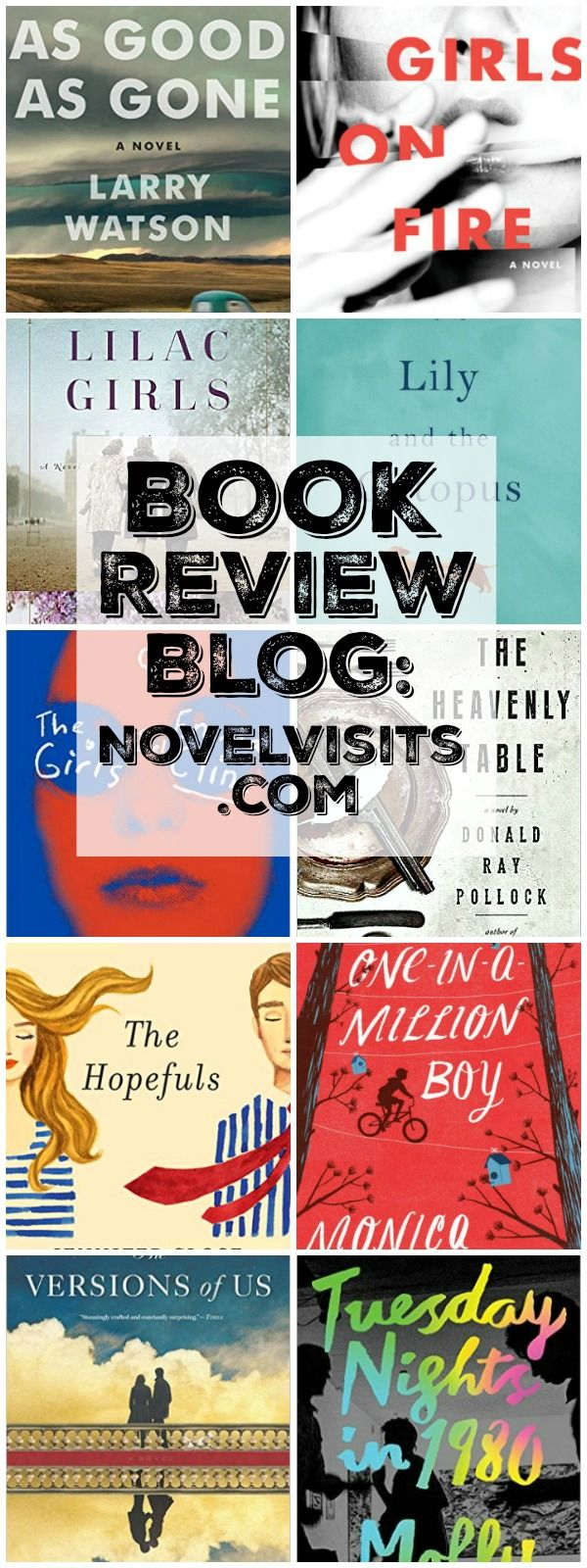 Book Review Blog: Novelvisits  Awesome Resource For Finding The Best  Books To