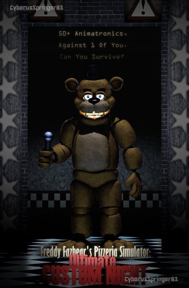 Ultimate Custom Night Poster Sfm Edit By Cyberusspringer03