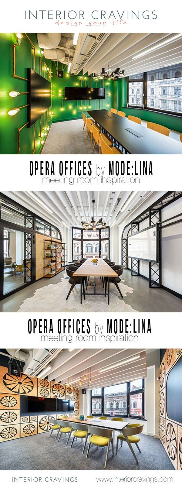 opera software offices by modelina - modern corporate interior design - meeting room interior design inspiration. conference room design details.