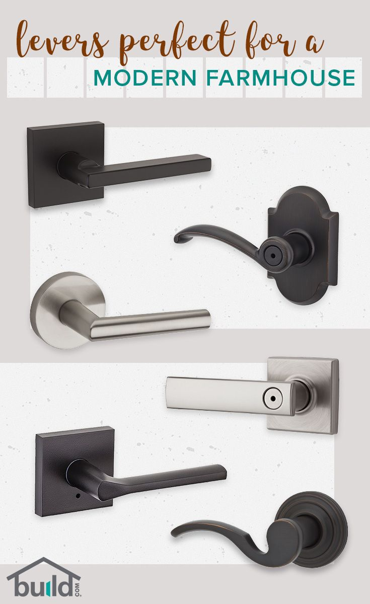 Upgrading your door hardware is so simple, and it can completely change the look of your room. Get the finishing touches on your Modern Farmhouse now
