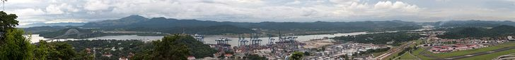 Panama Canal - I think best seen on a long slow cruise!!