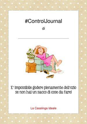 Si tratta del Control Journal, un libro formato A4 che ci aiuterà a seguire, pianificare, organizzare ogni singolo angolo della casa. Tratterà di economia..
