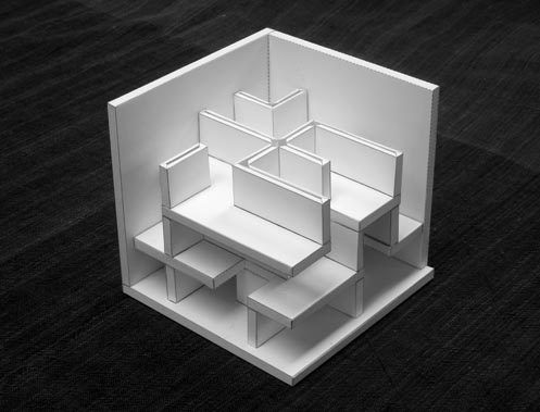 Cube maze, designed by Lee-Kuo
