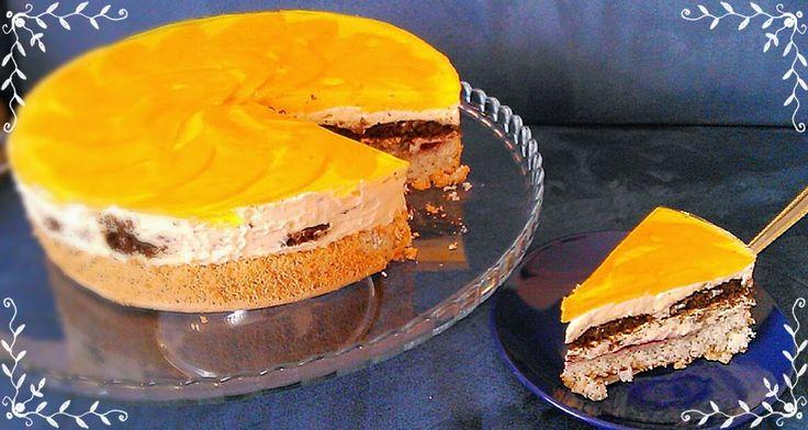 SŁODKIE ZAMIESZANIE: Tort z mango i kremem kokosowym