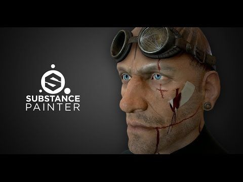 Substance Painter: creative use of particle brushes - YouTube