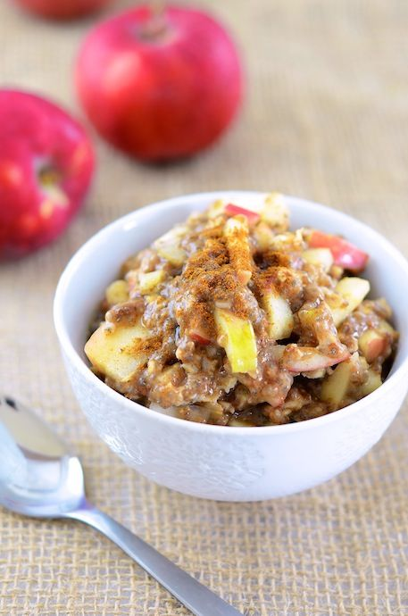 Superfood Apple Oatmeal 2