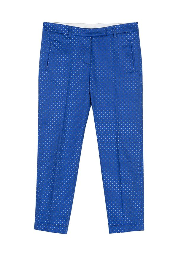 QL2 -  PIPER PRINTED STRETCH COTTON PANT  ( Together is always better) #women's #fashion
